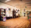 Inside Chameleon New age Salon